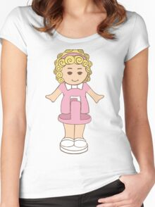 Polly Pocket Women's Fitted Scoop T-Shirt