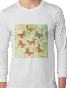 Butterfly Colours Long Sleeve T-Shirt