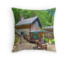 Immigrant Cabin Throw Pillow