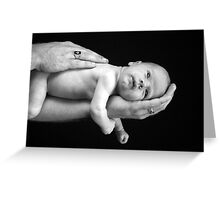 Daddy's Hands Greeting Card