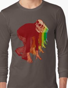 Racing Rainbow Skeletons Long Sleeve T-Shirt