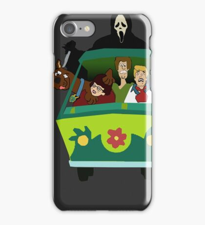 Scream-Scooby Doo iPhone Case/Skin