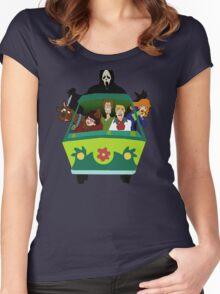 Scream-Scooby Doo Women's Fitted Scoop T-Shirt
