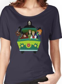 Scream-Scooby Doo Women's Relaxed Fit T-Shirt