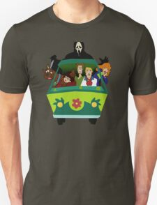 Scream-Scooby Doo Unisex T-Shirt