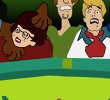 Scream-Scooby Doo Sticker