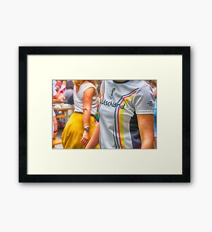 World Cup Fans Framed Print