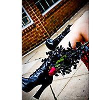 Leather Love Photographic Print