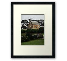 Myrniong Uniting Church Framed Print
