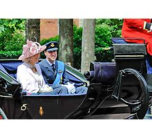 Prince William: Trooping of the Colours. Photographic Print