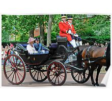 Prince William and Princess Alexandra: Trooping the Colour 2010 Poster