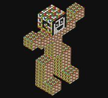 rubik's cube building Kids Clothes