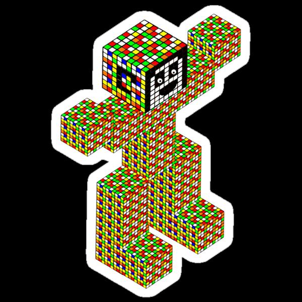 rubik's cube building by ralphyboy