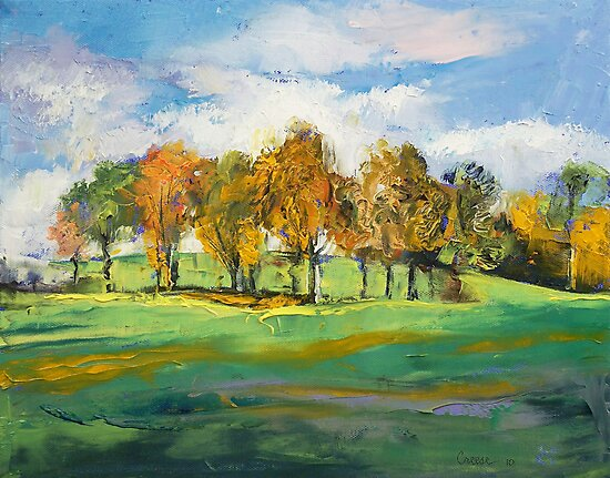 Autumn Light by Michael Creese