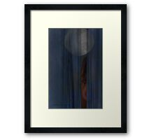 Peeping Moon © Vicki Ferrari Framed Print