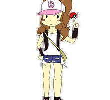 Pokemon Trainer Hilda by Fabong