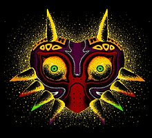 Dots of Majora's Mask by jellysoupstudio