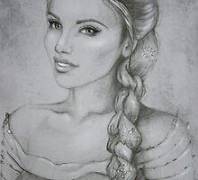 Elza drawing by MartaDeWinter