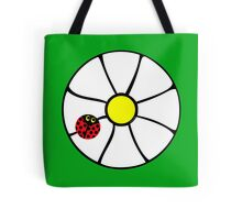 Flower - White Daizee Tote Bag