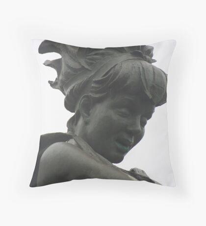 Memorial Lady Throw Pillow