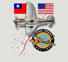 flying tigers P-40 Unisex T-Shirt