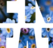 Penn State flowers Sticker