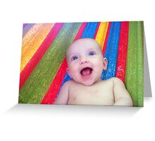 Gurgling Giggles Greeting Card
