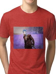 Lavender Horse Tri-blend T-Shirt