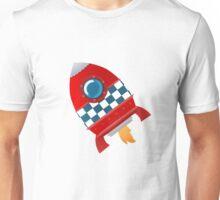 Space rocket travel T-shirt Unisex T-Shirt