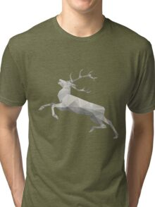 White Deer Tri-blend T-Shirt