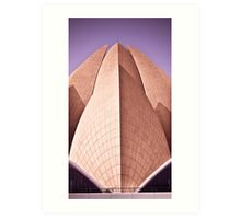 Bahai Lotus Temple Art Print