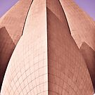 Bahai Lotus Temple by Alex Howen