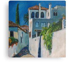 Albaicin, Granada Canvas Print
