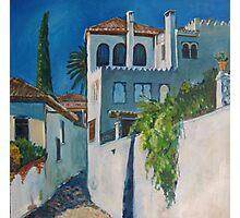 Albaicin, Granada Photographic Print