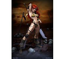 Red Sonja Photographic Print