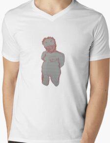 Boob Man Mens V-Neck T-Shirt