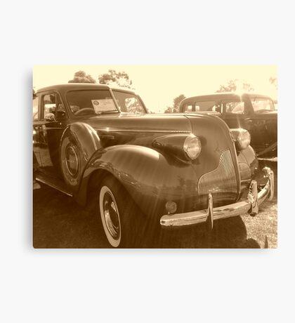 vintage cars 2 Canvas Print
