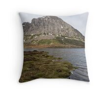 King Davids Peak, Tasmania Throw Pillow