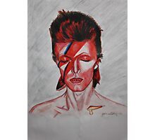 David Bowie - Aladdin Sane Photographic Print