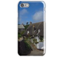 Cottages, Cadgwith, Cornwall iPhone Case/Skin