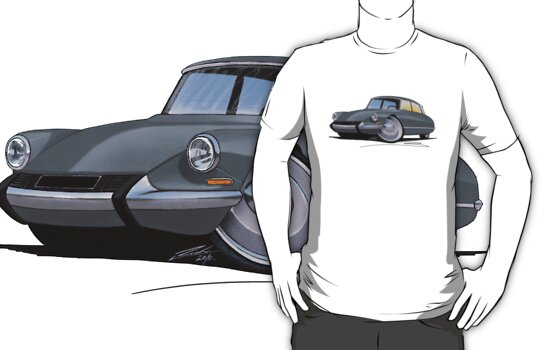 Citroen DS Grey by Richard Yeomans