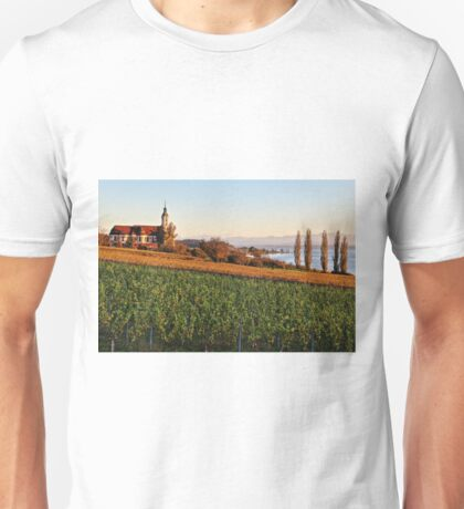 The Baroque Basilica of Birnau - Lake Constance Unisex T-Shirt