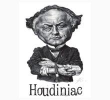 Houdiniac t-shirt - Houdini caricature by Neil Davies
