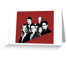 A BTVS motif Greeting Card