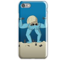 Muscular Omanyte iPhone Case/Skin