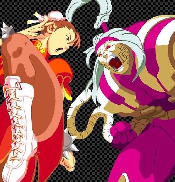 Chun Li & Omega Red by Manuel Guardado
