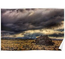 Another stormy day in northern Arizona Poster