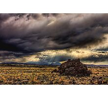 Another stormy day in northern Arizona Photographic Print
