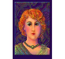 'Claudia' A Beautiful Vampire' Photographic Print