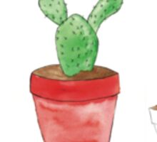 cactus collection  Sticker